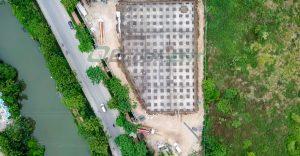 Nhà máy xử lý nước thải KCN Tiên Sơn giai đoạn 3 – Đổ bê tông thành bể