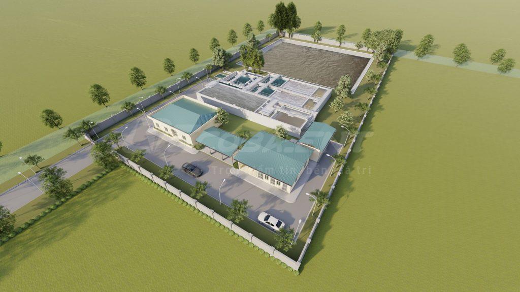 Trạm xử lý nước thải khu công nghiệp Thanh Liêm