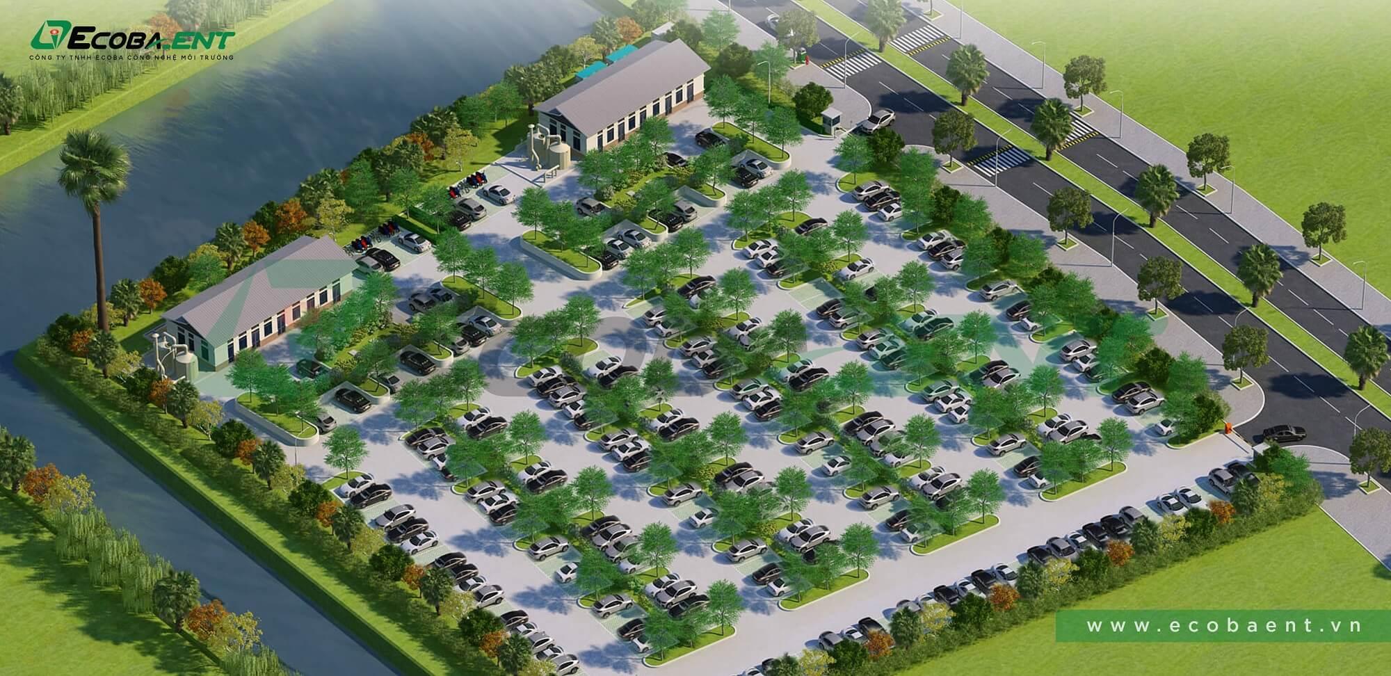 Trạm xử lý nước thải số 2 khu đô thị Ecopark