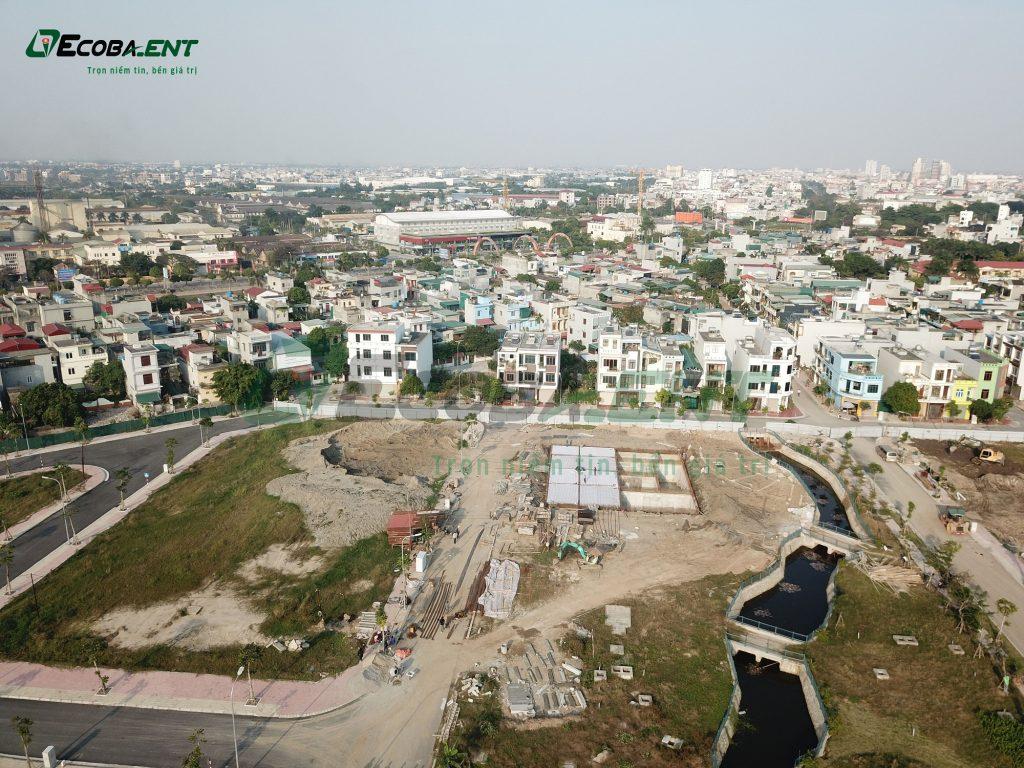Hệ thống xử lý nước thải khu đô thị DragonHomes Eco City