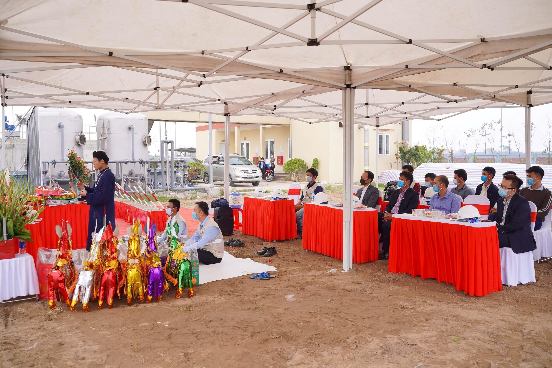 Trạm xử lý nước thải khu công nghiệp Hòa Phú – Giai đoạn 2