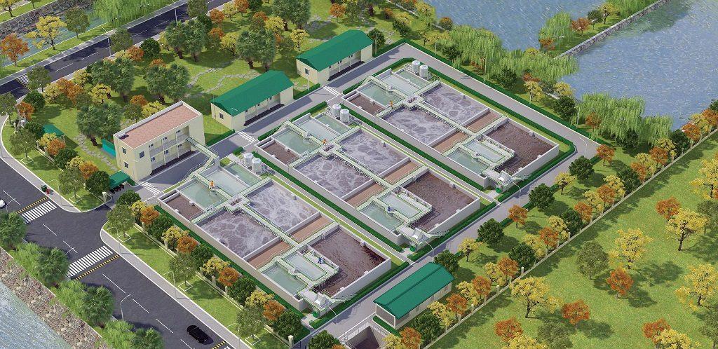 Trạm xử lý nước thải khu công nghiệp Hòa Phú - Giai đoạn 3