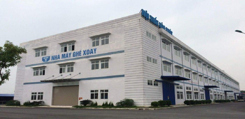 Trạm xử lý nước thải nhà máy nội thất Hòa Phát Hưng Yên