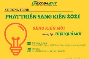 """Ecoba ENT triển khai chương trình """"Phát triển Sáng kiến 2021"""""""