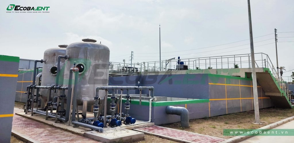 The centrialized wastewater treatment plant for Hoa Phu industrial park - phase 2